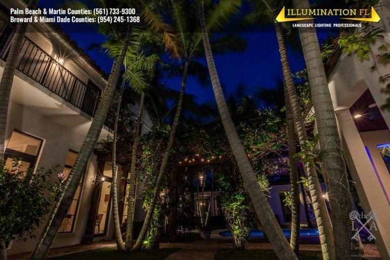 coconut grove landscape lighting