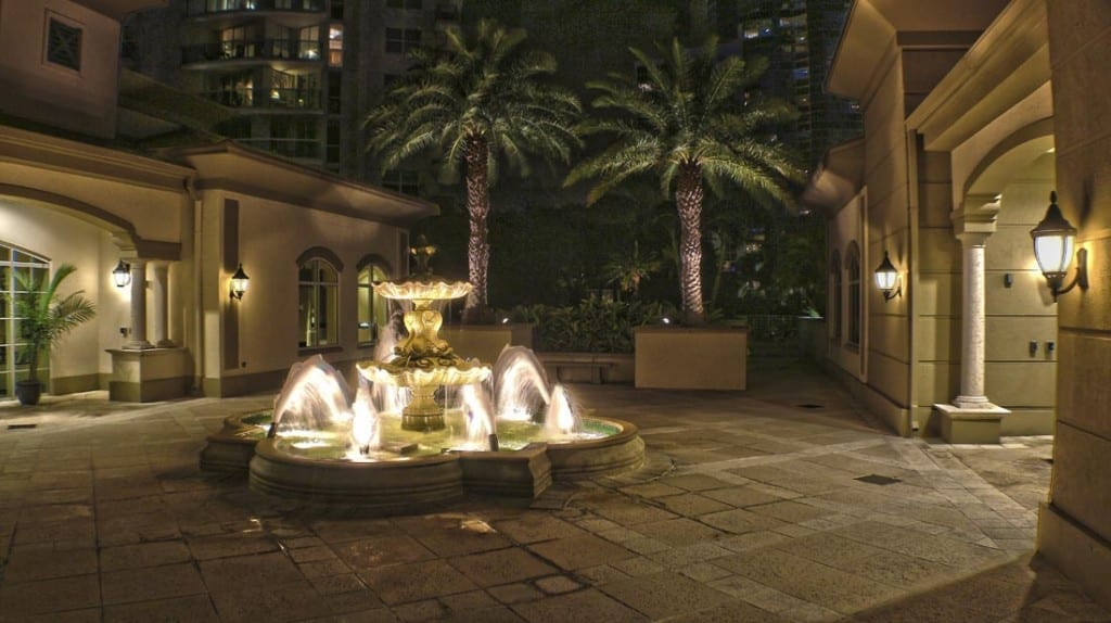 statues fountains led lighting service