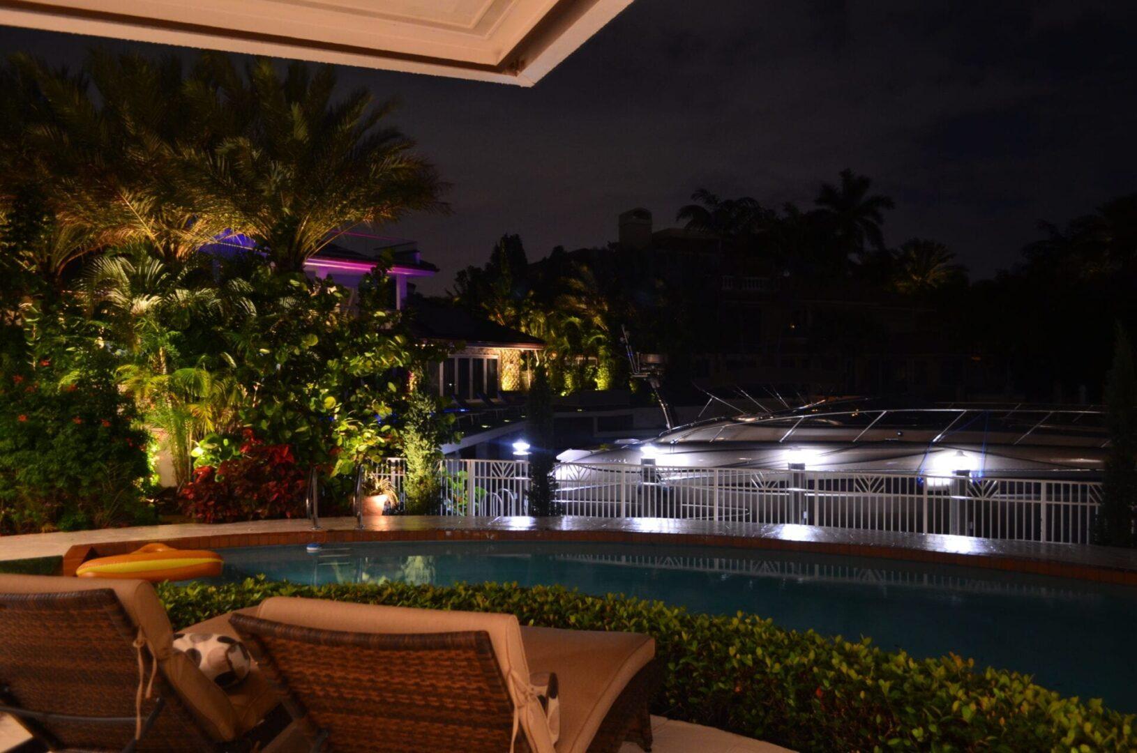 Illumiation FL - Landscape Lighting - Dock Work