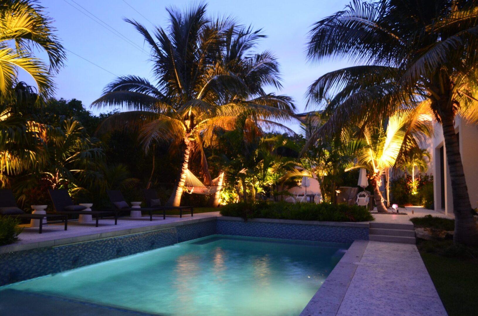 Delray Beach - LED Landscape Lighting