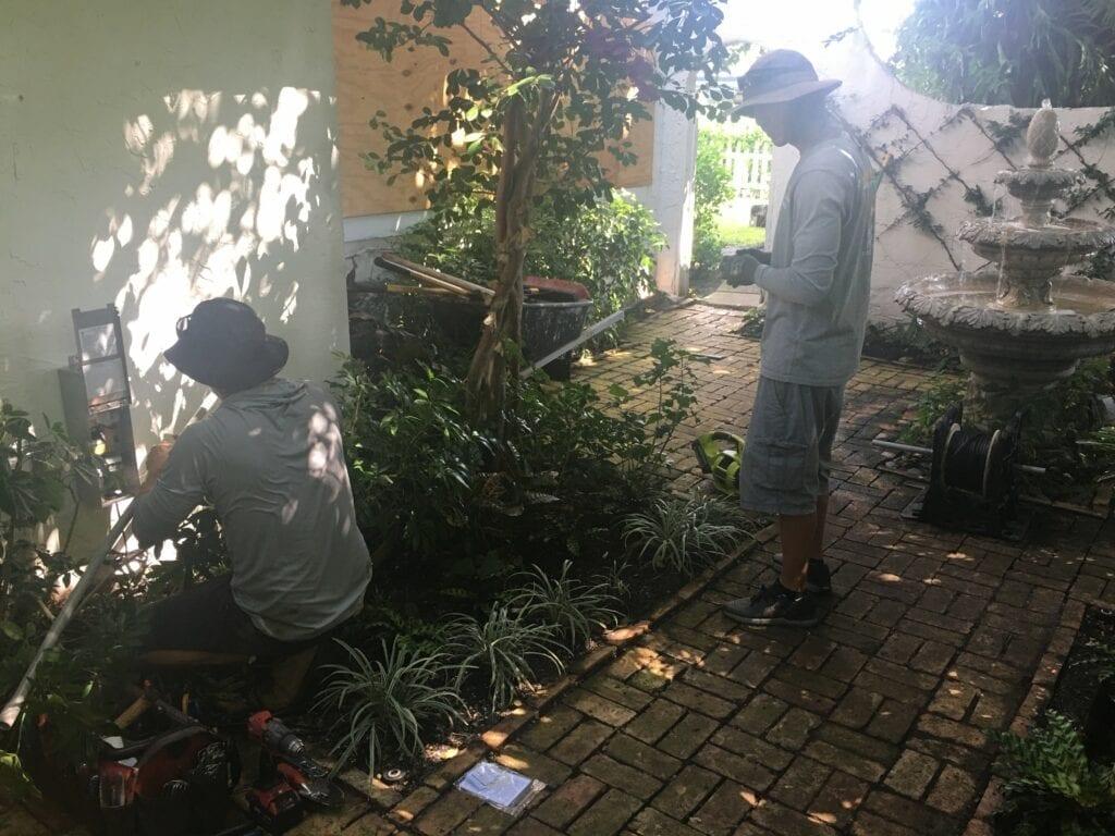 Garden Lighting West Palm Beach