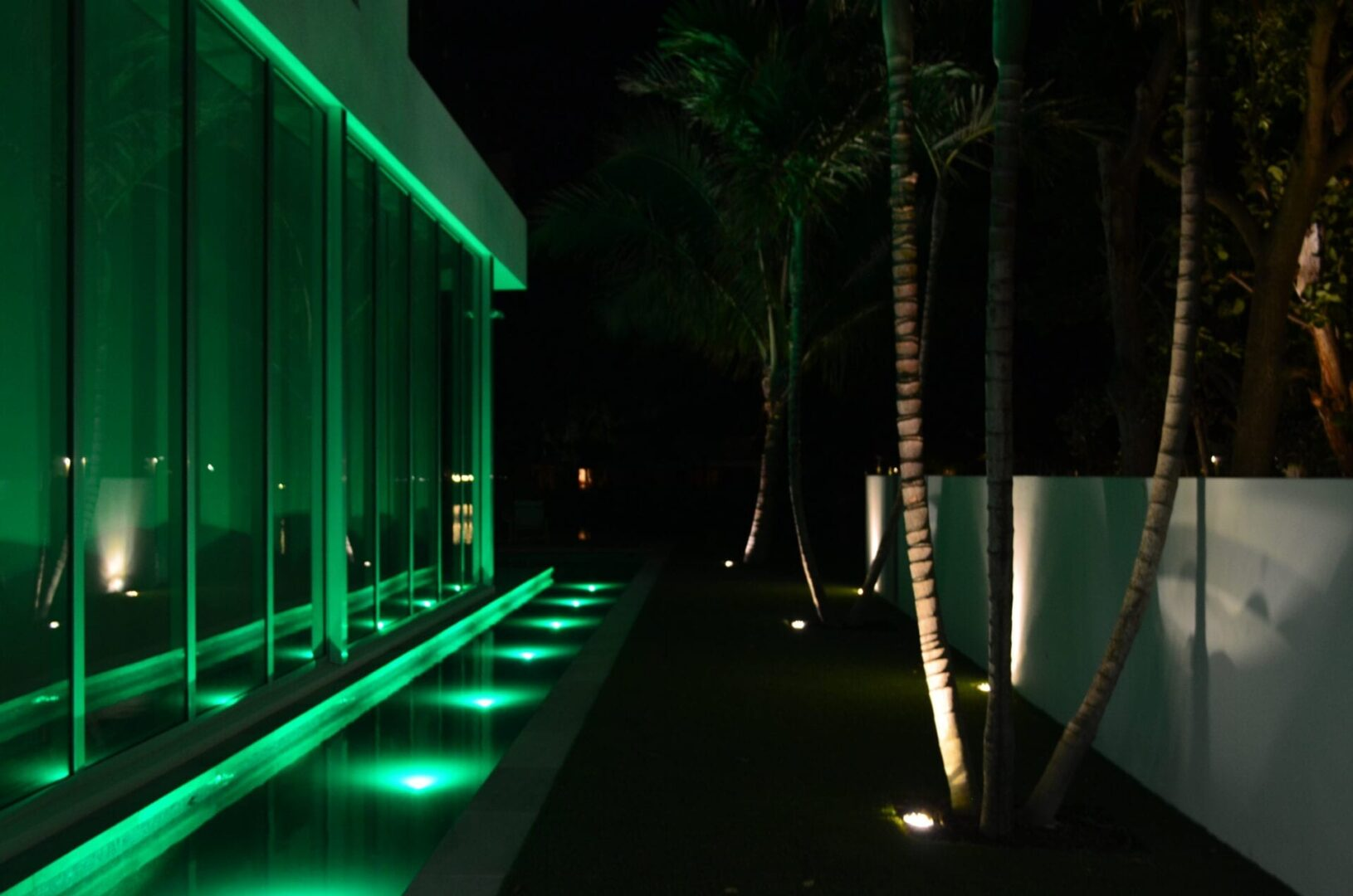 Creative LED Landscape Lighting