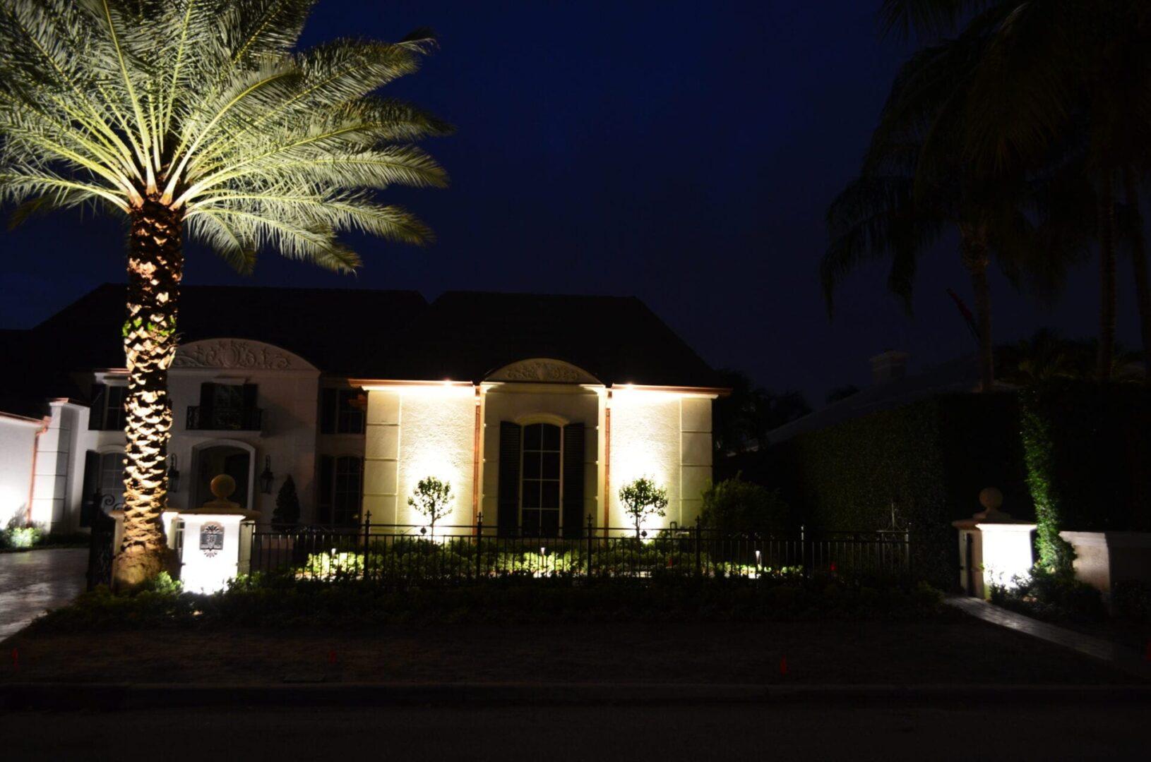 Residential LED Landscape Lighting