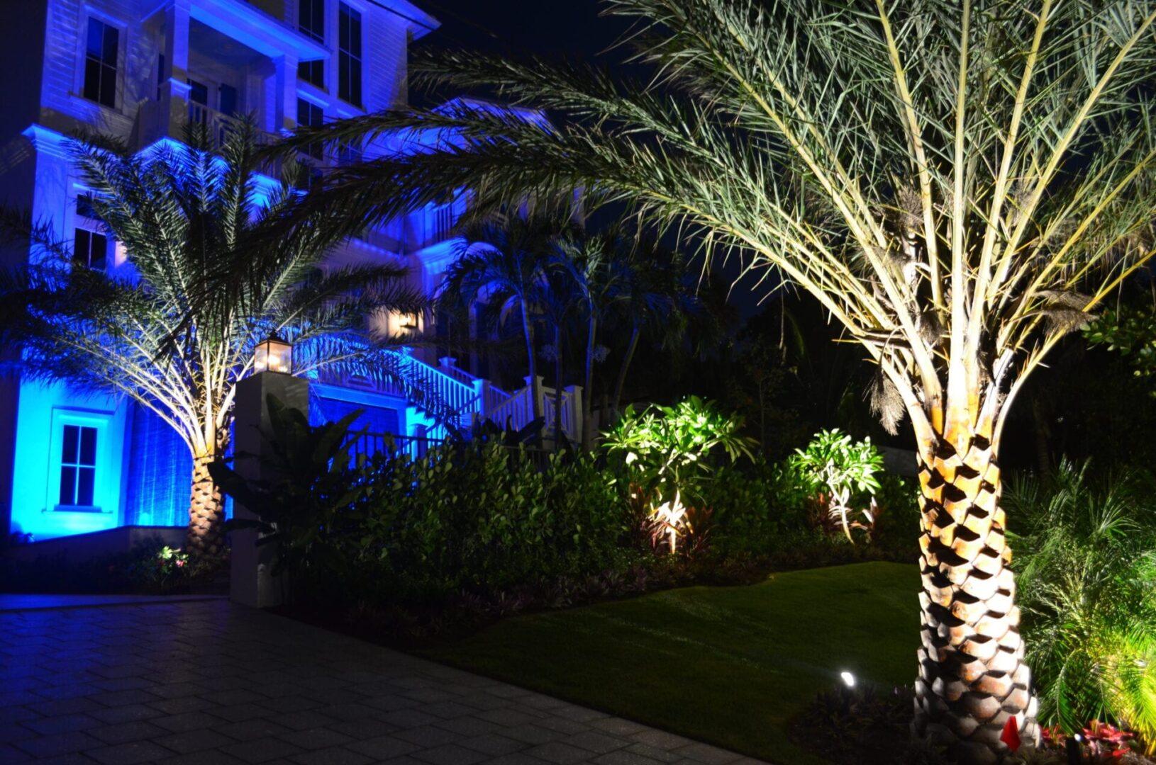 LED Landscape Lighting - Residentia