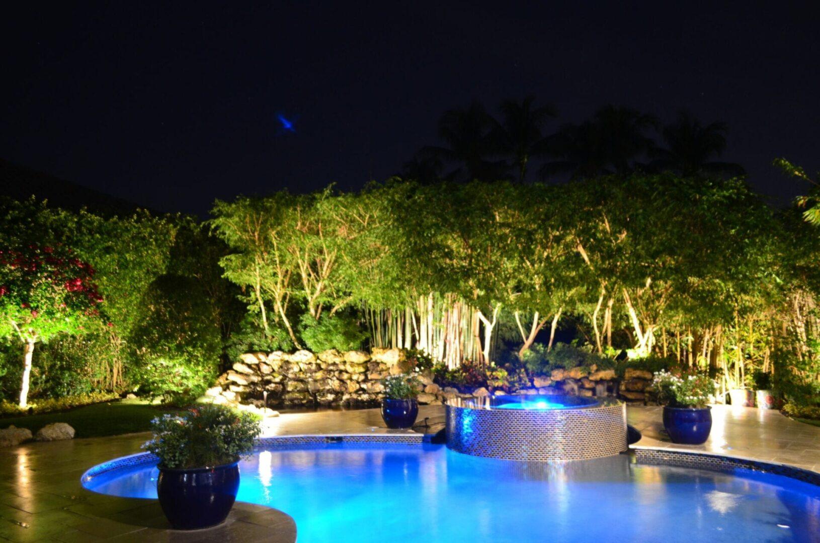Illumination FL - Landscape Lighting - A Beautiful Oasis