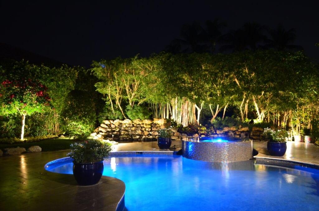 Tropical-Oasis-Landscape-Lighting-IlluminationFL