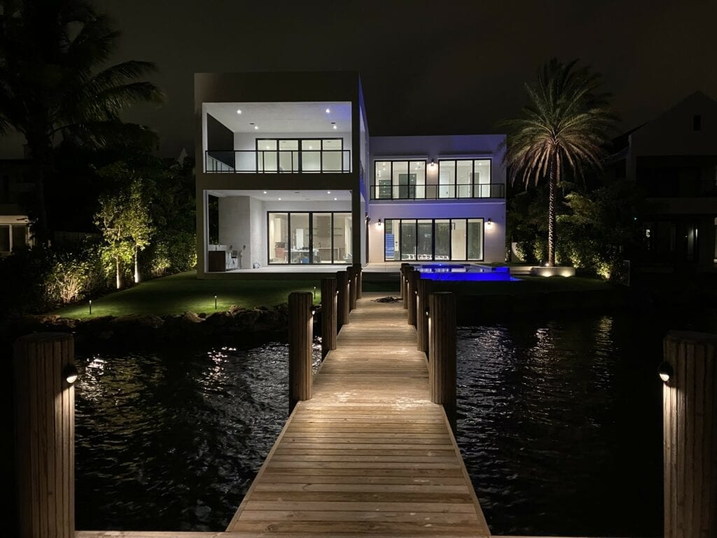 Delray Beach-Lake Ida-LED Landscape Lighting