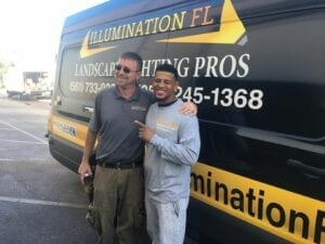 Top Landscape Lighting Team Member Wins a Bahamas Cruise
