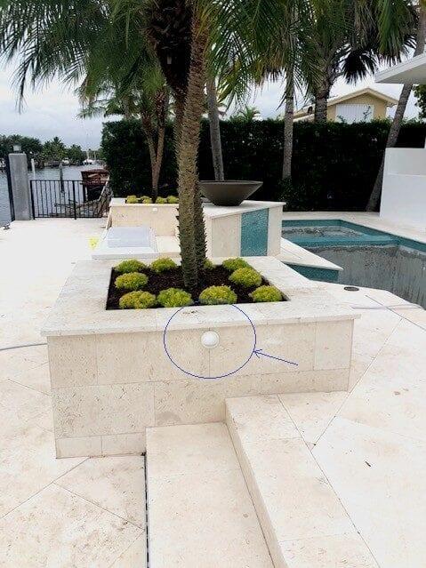 Fort Lauderdale-Landscape Lighting-Illumination FL-White Deck Lighting