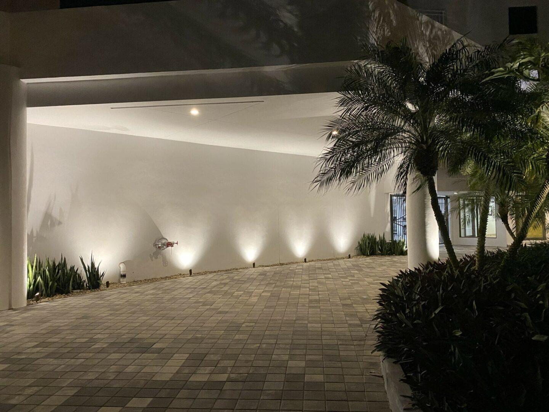 Commercial Landscape Lighting