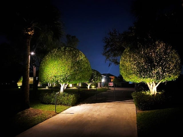 Landscape-Lighting-Lake-Worth-Florida-Illumination FL