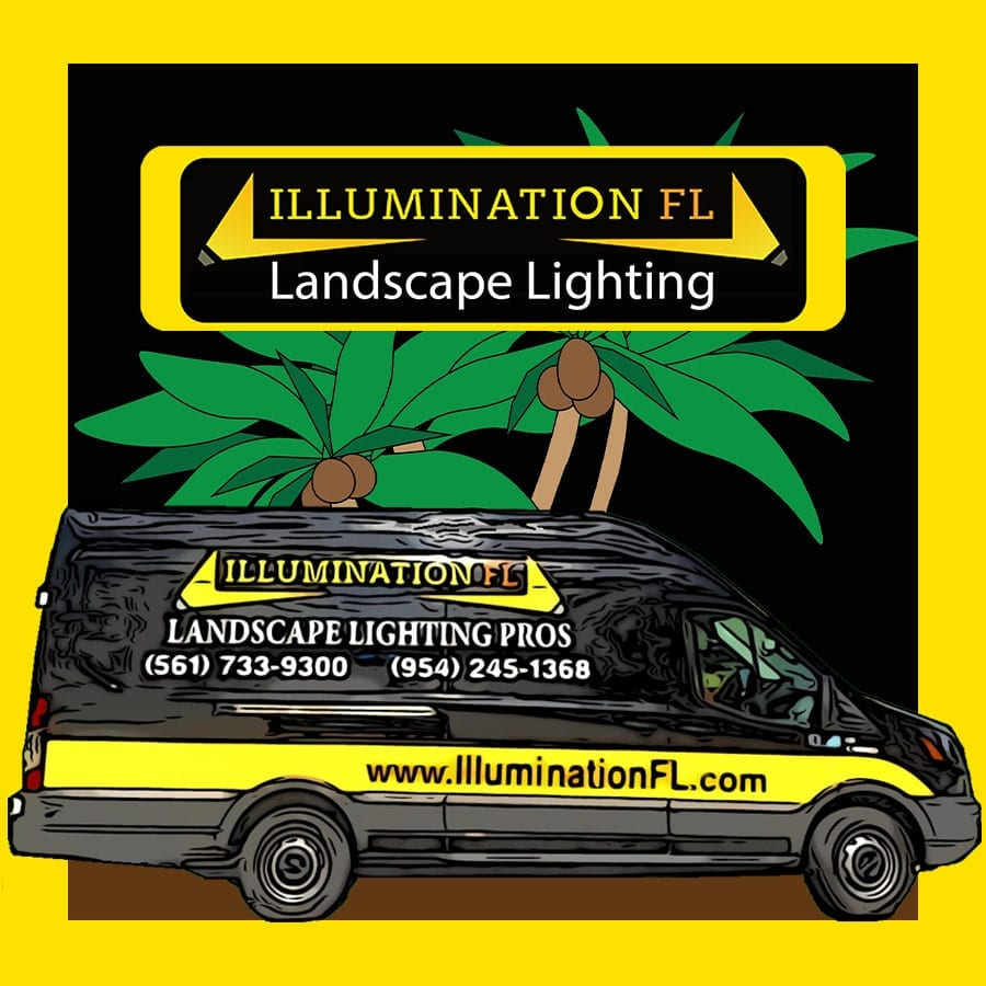 Illumination FL-Van-Logo-Landscape-Lighting