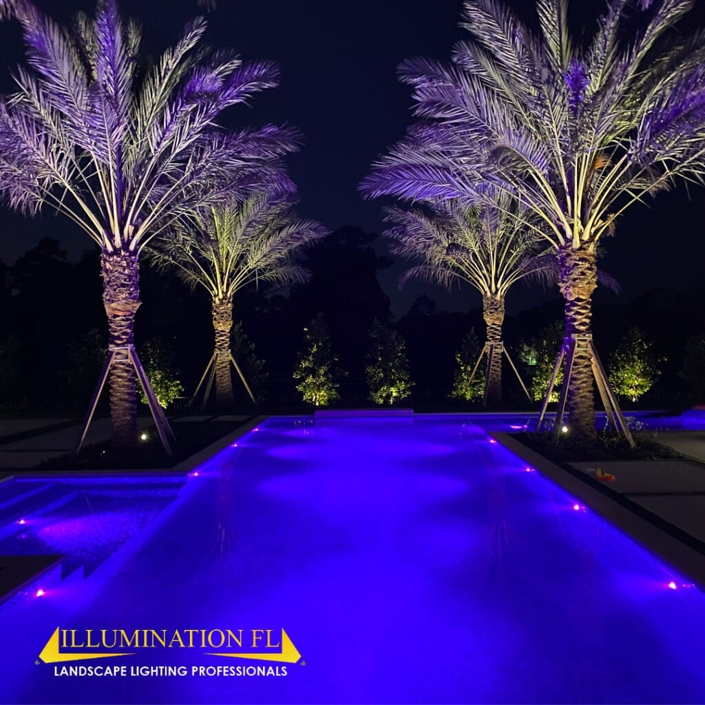 Illumination FL - Landscape Lighting - Pool - Palm Beach
