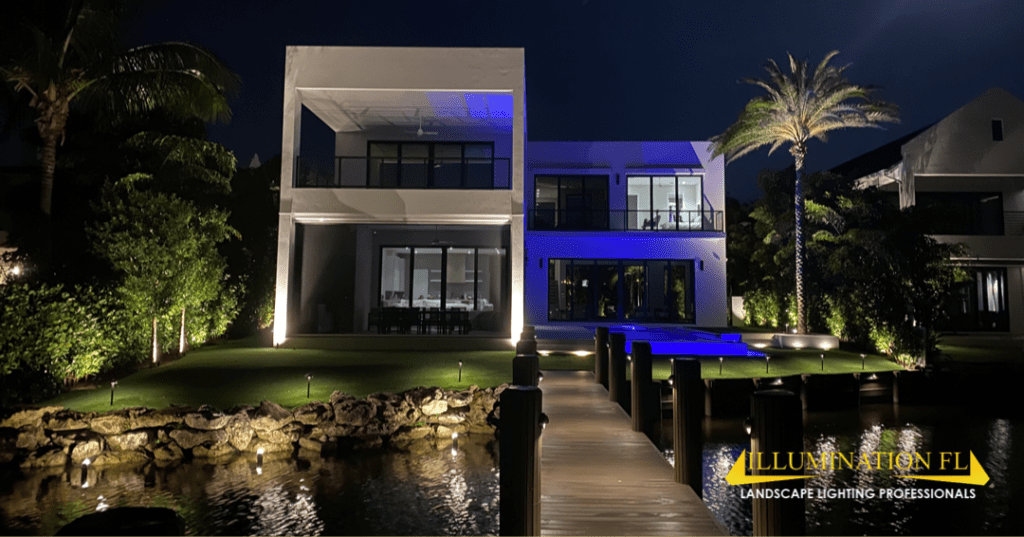 Illumination FL - Contemporary - Custom Home - Landscape Lighting