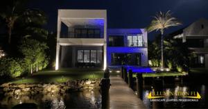 Illumination FL - Contemporary - Custom Home - Landscape Lighting