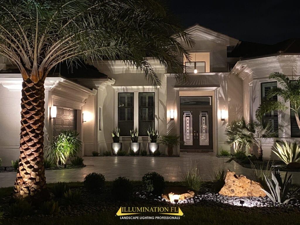Illumination-FL-Landscape-Lighting-Entrance-Curb-Appeal-LED-Lights