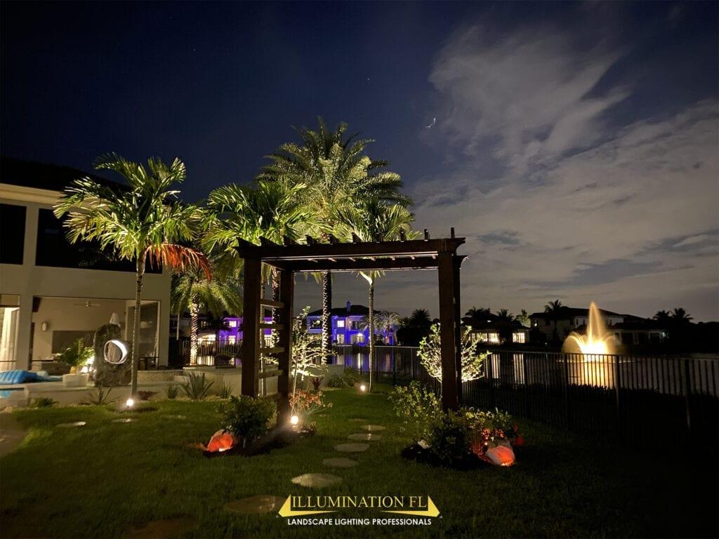 Illumination-FL-Landscape-Lighting-Garden-Walkway-Path-Pergola