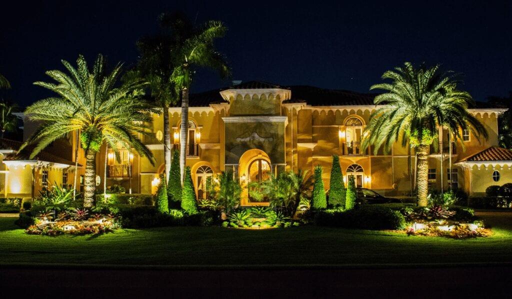 Residential Landscape Lighting- Illumination FL- House Front
